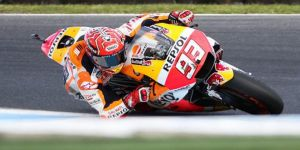 Hollanda'da zafer Marquez'in