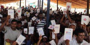 TİKA'dan Arakanlı Müslümanlara yardım eli
