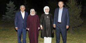 Erdoğan, Başbakan Yıldırım'ı ziyaret etti