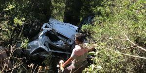 Kayıp 4 kişi uçurumun dibinde ölü bulundu