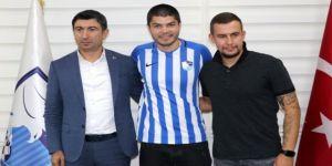 Rus futbolcu Erzurumspor'da!
