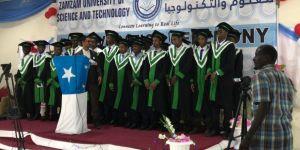 Somali Tarım Okulu ilk mühendislerini mezun etti