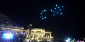 Ece Seçkin konserinde drone şov!