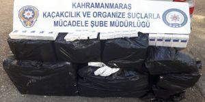 Bin 920 paket kaçak sigara ele geçirildi