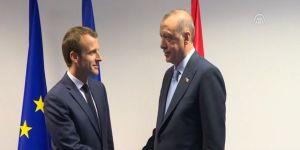 NATO Zirvesi'nde Erdoğan-Macron görüşmesi