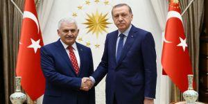 Erdoğan'dan, Yıldırım'a şeref madalyası