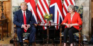 Trump, May ile görüştü