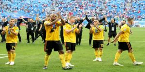İngiltere'yi 2-0'la geçen Belçika üçüncü oldu