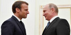 Macron, Putin'i tebrik etti