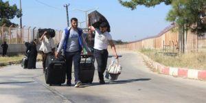 40 bini aşkın Suriyeli dönüş yaptı
