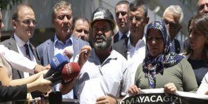 Soma'da yakınlarını kaybedenler Ankara'da