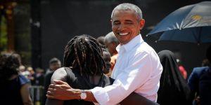 Obama yıllar sonra 'baba ocağı'nda
