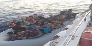 15'i çocuk 34 kaçak göçmen yakalandı