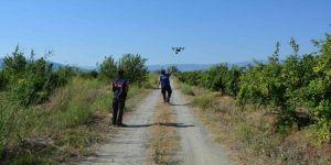Kayıp şahıs drone ile aranıyor