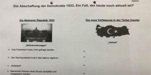 Skandal sınav: 'Nazi Almanyası' ve Türkiye'yi karşılaştırın!