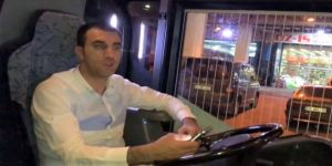 Fenerbahçe'nin eski takım otobüsünde korkunç kaza