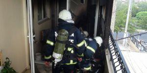 Buzdolabı kablosu yangına neden oldu