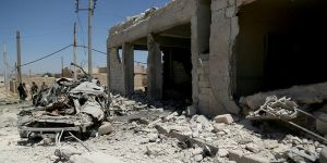 Azez'de bombalı saldırı