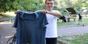 17 yaşındaki genç, 11 ayda 62 kilo verdi