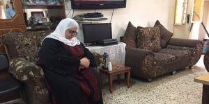 İsrail'in baskısına direnen Filistinli kadın