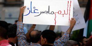 Ürdün'de İsrail'den doğalgaz ithalatı protesto edildi