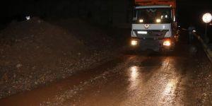 Kocaeli'de D-100 karayolu yeniden ulaşıma açıldı