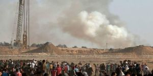 Gazze sınırında 2 kişi şehit oldu, 115 kişi yaralandı