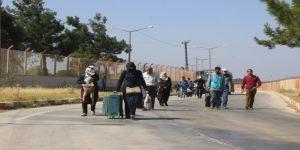 Ramazan Bayramı için giden Suriyelilerden 3 bin 190'nı Türkiye'ye geri dönmedi