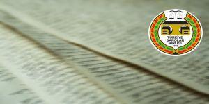 TBB'den Amerkan Barolar Birliğine mektup