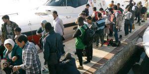 45 kaçak göçmen yakalandı