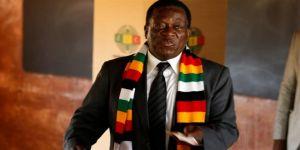 Seçimi Mnangagwa kazandı