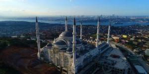 Çamlıca Camii'nde sona yaklaşıldı