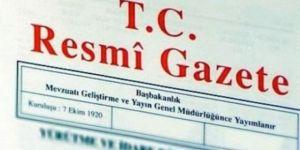 Cumhurbaşkanlığına ait atamalar Resmi Gazete'de