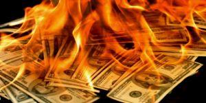 Dolarda sert yükseliş
