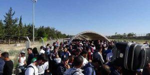 13 bin Suriyeli bayram için gitti
