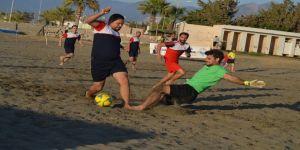 TFF Plaj Futbolu Arsuz etabı başladı