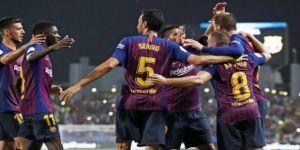 Süper Kupa Barcelona'nın!
