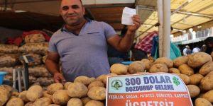 Pazarcılardan 'döviz' kampanyası