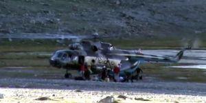 Düşen helikopterde 5 kişi yaşamını yitirdi
