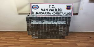 4 bin 700 paket kaçak sigara ele geçirdi