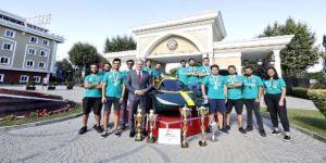 Şampiyonların hedefi dünya birinciliği