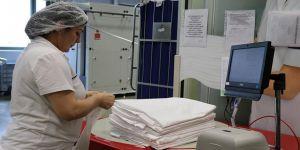 Şehir hastanesinde tekstil ürünlerine 'çipli takip'