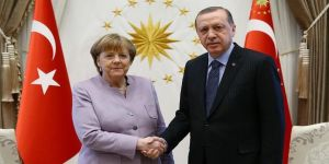 Erdoğan-Merkel görüştü