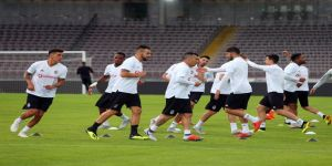 Beşiktaş'ta LASK Linz maçı hazırlıklarını tamamladı