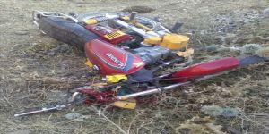Motosiklet kazası: 1 ölü, 1 yaralı