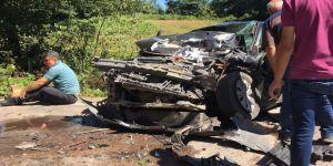 Ordu'da trafik kazası: 2 ölü, 4 yaralı