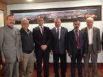 Aydınlar Ocağı'ndan Kaymakam Ersin Emiroğlu'na ziyaret