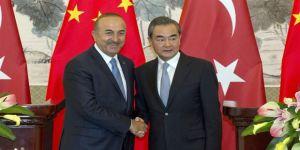 Çavuşoğlu Çinli mevkidaşı ile görüştü