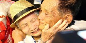 65 yıl sonra birbirlerine kavuştular!