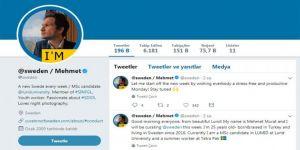İsveç'in resmi Twitter hesabı Türk öğrenciye emanet